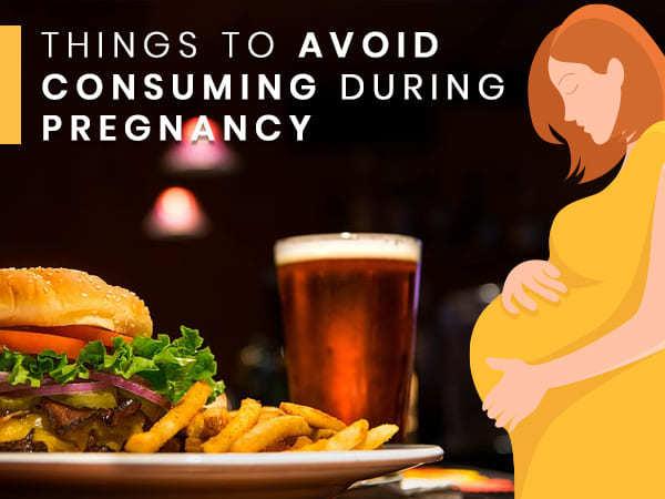 أطعمة على الحامل تجنبها