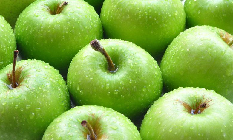 التفاح الأخضر لحصى المرارة
