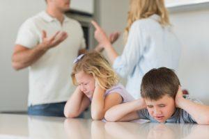 المشاكل الزوجية ومدى تأثيرها على الأطفال