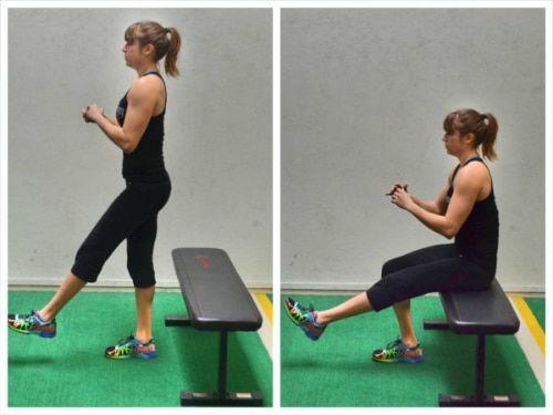 تمرين عضلات الفخذين