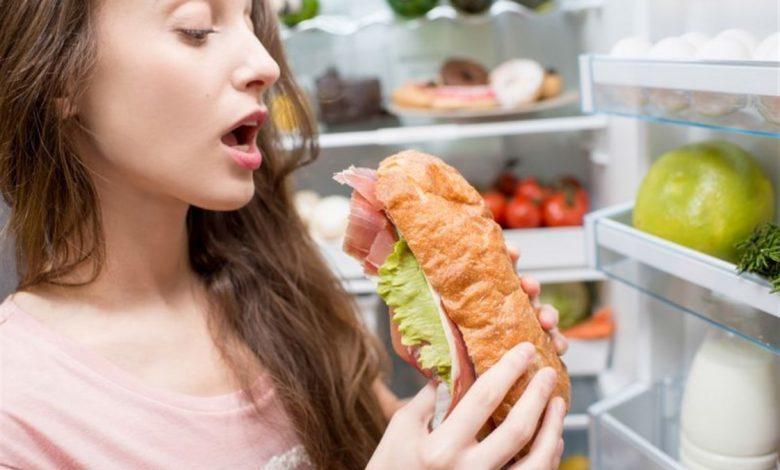 الإكثار من تناول الطعام