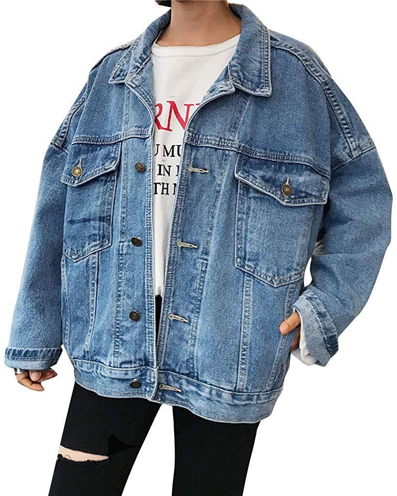 جاكت جينز Oversized