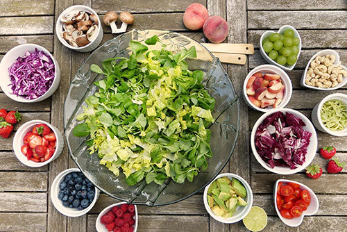 جدول حمية غذائية