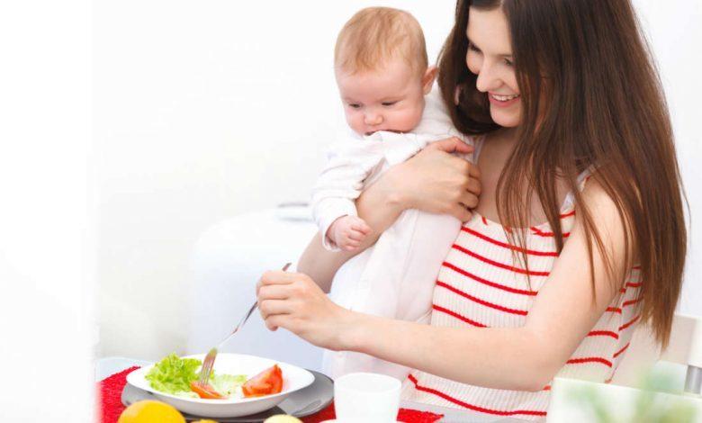 حمية غذائية للمرضعات