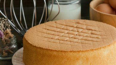 صورة طريقة عمل الكيكة العادية بالكاكاو