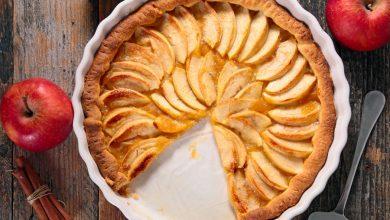 صورة طريقة عمل تارت التفاح في خطوات بسيطة