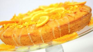 صورة طريقة عمل كيكة  البرتقال