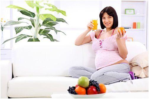 الحمية الغذئية للحامل