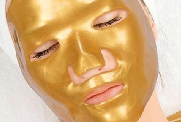 أنواع أقنعة الوجه الذهبية