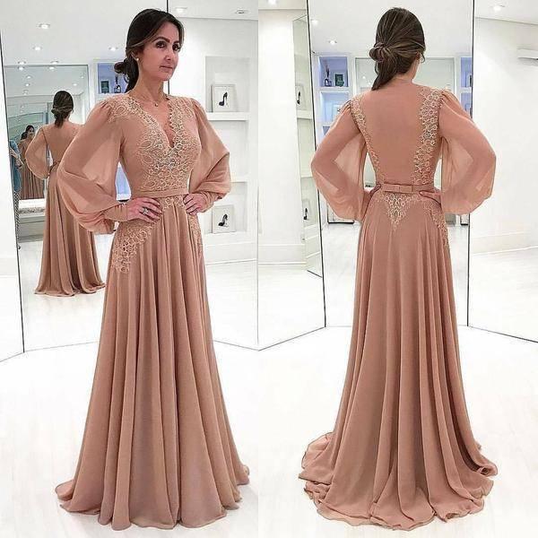 الفساتين الشيفون