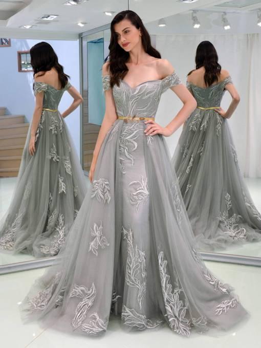 الفساتين سهرة للجسم المستطيل