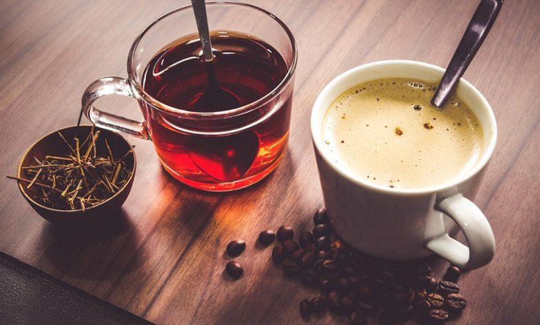 الفوائد الصحية للشاي والقهوة