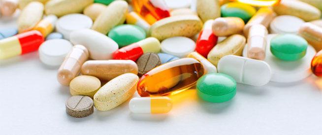 بعض أنواع الفيتامينات
