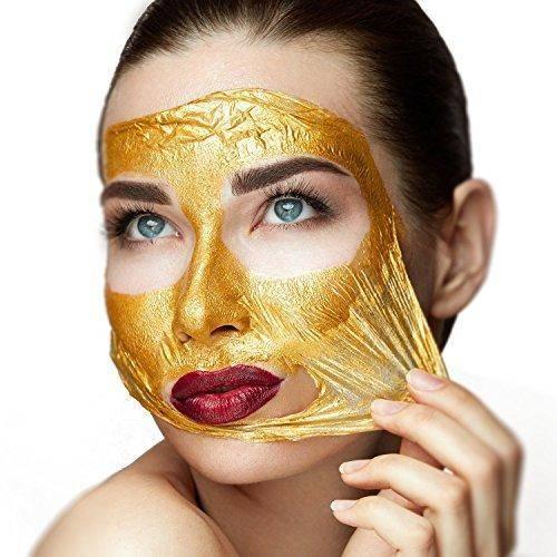 فوائد أقنعة الوجه الذهبية
