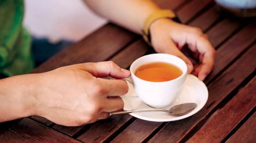 مجموعات البوليفينول في الشاي والقهوة