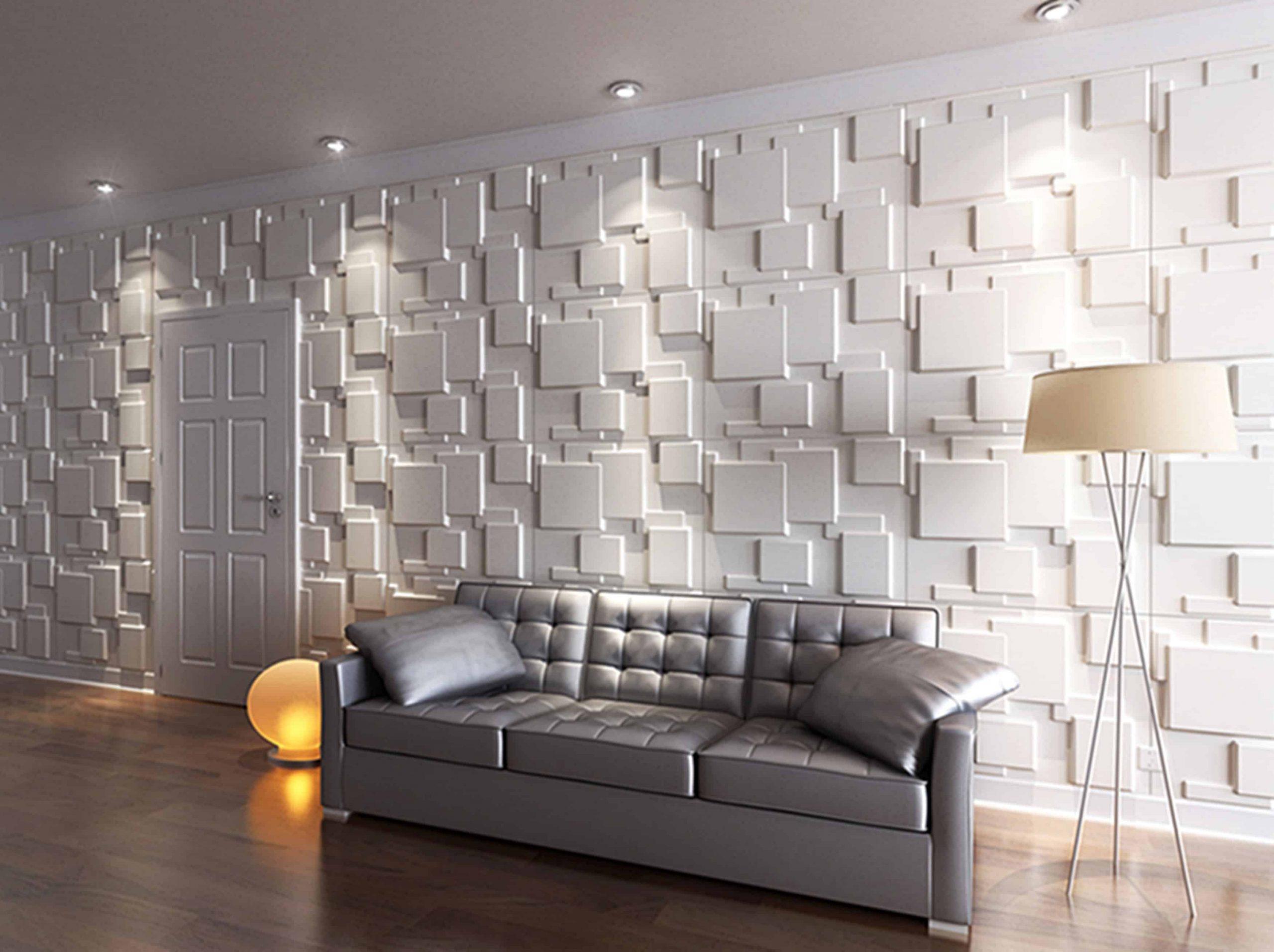 ديكور حائط ثلاثي الابعاد