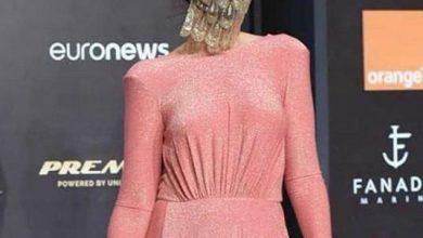 صورة فستان أروى جودة في افتتاح مهرجان الجونة السينمائي 2020