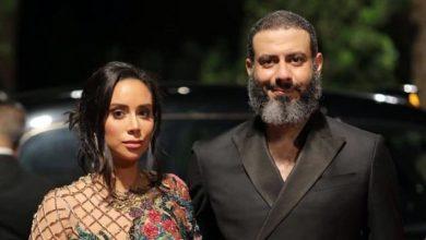 صورة فستان بسنت شوقي في اليوم الثاني لمهرجان الجونة السينمائي 2020
