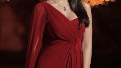 صورة فستان أسيل عمران في افتتاح مهرجان الجونة السينمائي 2020