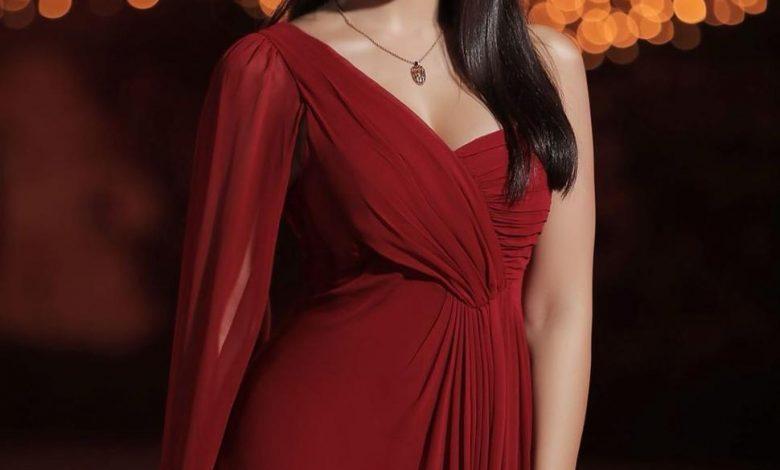 فستان أسيل عمران