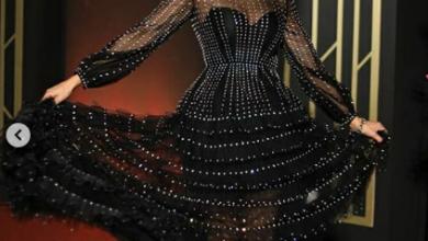 صورة فستان ريا في اليوم الثاني لمهرجان الجونة السينمائي 2020