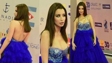 صورة فستان سارة التونسي في اليوم الثاني لمهرجان الجونة السينمائي 2020