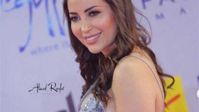 صورة فستان نسرين طافش في افتتاح مهرجان الجونة السينمائي 2020