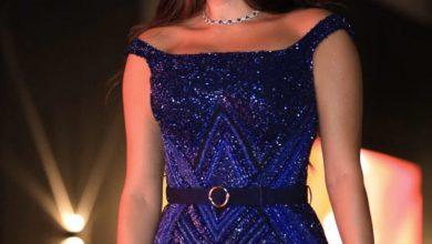 صورة فستان ياسمين صبري في افتتاح مهرجان الجونة السينمائي 2020